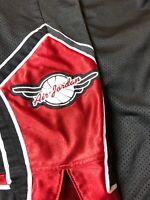 Vintage Air Jordan Basketball Shorts 90's Wings Jumping Man Black Size XXL Mens