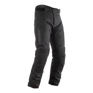 RST Syncro CE Motorcycle Motorbike Textile Trousers Black Short/Reg/Long Leg