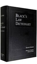 Black's Law Dictionary by Bryan A. Garner (2004, Hardcover, Revised)