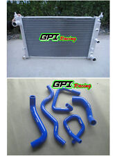 Aluminum Radiator & BLUE hose Ford Falcon BA BF V8 Fairmont XR8 &XR6 Turbo