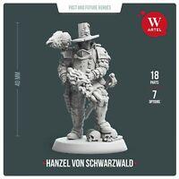 Witch-Hunter Hanzel von Schwarzwald by Artel W- Inquisitor (U.S. Shipping)