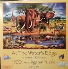 At The Water's Edge 1500 Piece Puzzle