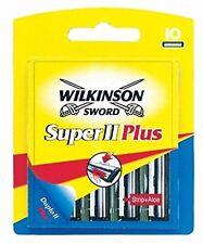 Pack de 10 - Wilkinson - Super II Plus - Lames de rasoir pour rasage Homme