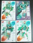 Match attax Bundesliga 21/22 2021/2022  Alle 4 Karten SV Werder BremenTrading Card Sammlungen & Lots - 261329