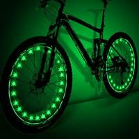 Bicycle Spoke Lights - Cool Bike Accessories
