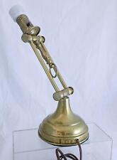 Antique Adjustable Brass Lamp Gimble Sea Boating Sailor Desk Ship Light Yacht
