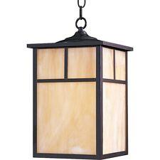 Maxim Coldwater 1-Light Outdoor Hanging Lantern Burnished - 4058Hobu