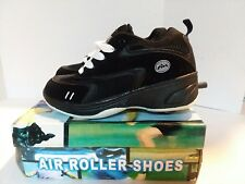 Air roller shoes black size 7 youth