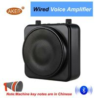 AKER 22W Waistband Voice Amplifier Booster TF USB Play Wired MP3 TF For Teacher