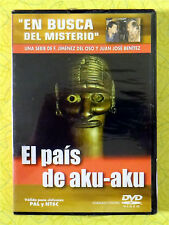 En Busca Del Misterio - El Pais De Aku-Aku ~ New DVD Movie ~ Sealed Video