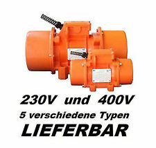 VM760 Vibrationsmotor Industrievibratoren  Unwuchtmotor 400V Baurüttler