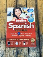 Berlitz Spanish Premier Language Learning Software 8 CD Set for Windows and Mac