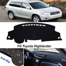 Fits Toyota Highlander 2001-2007 Carpet Dash Board Cover Mat Mocha