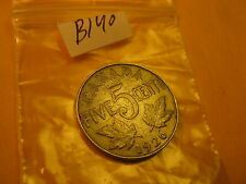 EXTREMELY RARE KEYDATE 1926 FAR 6 VARIETY CANADA 5 CENT COIN ID#B140