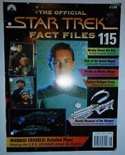 THE OFFICIAL STAR TREK FACT FILES #115