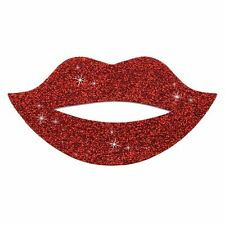 Sticker Bling Bling Gemz Crystal Rhinestone Red Glitter Lips