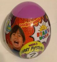 Ryan's World Series 3 Giant Mystery Egg Surprise Purple New In Hand