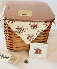 Rare ~ Looks Brand New ~ 2002 Longaberger Large Sweetest Gift Sweeheart Basket