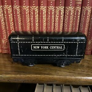 Vintage Tin Litho New York Central Marx Coal Tender Train Car Toy O Gauge