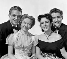 Jane Powell, Robert Stack & Elizabeth Taylor photo - H1732 - A Date With Judy