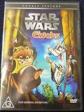 starwars EWOKS ANIMATED ADVENTURES dvd RARE OOP authentic REGION 4 lucasfilm