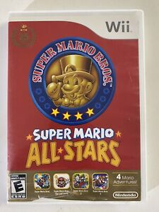 Super Mario All-Stars (Nintendo Wii, 2012) Complete TESTED