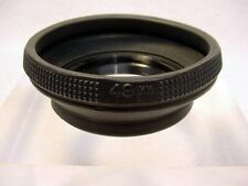Vintage 49mm Collapsible Rubber Lens Hood   Screw-in   Works well   $2.25  