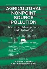 NEW Agricultural Nonpoint Source Pollution: Watershed Management and Hydrology
