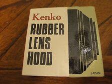 Kenko Rubber Lens Hood, 62.0s