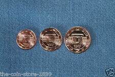 1/2/5 euro cent rumbo monedas Malta 2013 de papel UNC rar!!!
