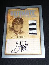 05-06 ITG Ultimate Memorabilia SIDNEY CROSBY AUTO / Stick Rookie 29/50 RC ! L@@K