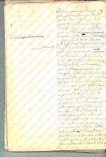 1850 ANONIMO Viaggio sulla nave SANT'ANDREA *Diario manoscritto INEDITO 204 pp.