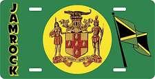 JAMROCK JAMAICA NOVELTY LICENSE PLATES