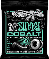 Ernie Ball 2726 COBALT Not Even Slinky Electric Guitar Strings 12-56