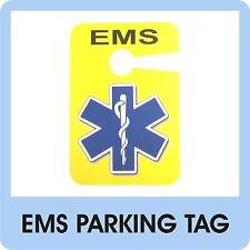 EMS Parking Tag EMT Paramedic EMR Medic Patch Badge Service Ambulance Car - D 08