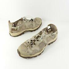 Salomon Techamphibian Contragrip Water Hiking Trail Shoes Tan Women's Size 7