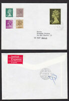 GB Great Britain 1983 Large £1 Machin on Express Cover to Switzerland