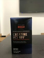 GNC AMP Creatine HCl 189, 120 Tablets, Increases Strength and Performance