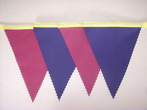 Barcelona football Fabric bunting Navy & Wine Party Decoration Gift 4 mt or more