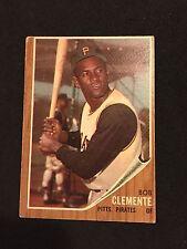 1962 Topps #10 ROBERTO CLEMENTE, PIRATES