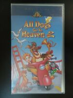 VHS MGM Movietime All dogs Go To Heaven 2 VHS PAL VIDEO - Rated G