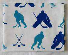 NUEVO azul y hockey sobre hielo Estampado Todo Algodón Té Cocina Toalla Enebro