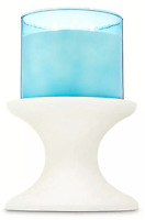 *New* WHITE PEDESTAL ~ 3 Wick Candleholder ~ Bath & Body Works ~ SHIPS FREE!