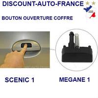 Bouton poussoir d'ouverture de coffre hayon de Renault Mégane 1 Scenic 1 phase 2