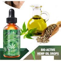 30ML 100% Bio-Extrakt Hanföl Für Stressangst Schmerzlinderung Schlafmittel