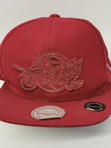 Cleveland Cavaliers Cap Hat Red Maroon Colourway with Adjustable Snapback Mens