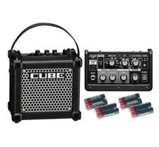 Roland Micro Cube GX Amplifier w/Free 8 Universal Electronics AA Batteries New