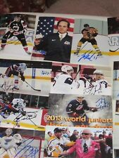 LOT OF 850 DIFFERENT AUTOGRAPHED 4X6 PHOTOS-HOF-RC-COACHES-STARS-AHL-NHL- LOADED