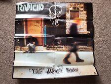 New listing Rancid Life Won't Wait Promo Poster