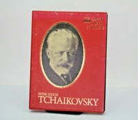Great Men Of Music Peter Ilyich Tchaikovsky 4 Cassette Tape Set Time life Record